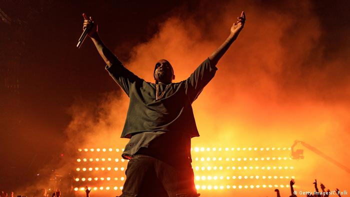 Kanye West iHeartRadio Music Festival
