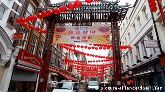 Chinesisches Neujahrsfest London China Town (picture-alliance/dpa/H.Yan)