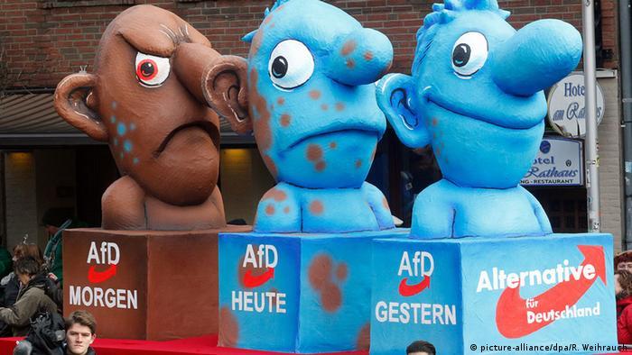 Deutschland Rosenmontag in Düsseldorf mit AfD-Thema (Foto: Dpa)