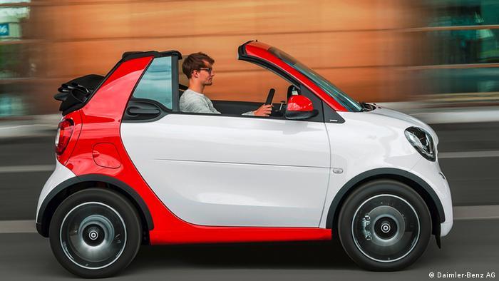 Smart Cabrio 2016