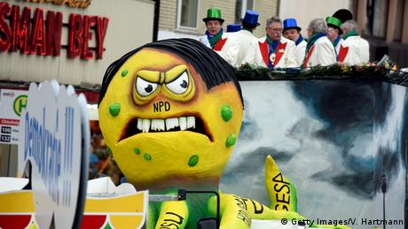 Köln Deutschland Karneval Rosenmontag (Getty Images/V. Hartmann)
