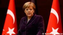 Türkei Ankara Treffen zur Flüchtlingskrise Merkel