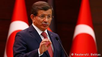 Türkei Ankara Treffen zur Flüchtlingskrise Davutoglu