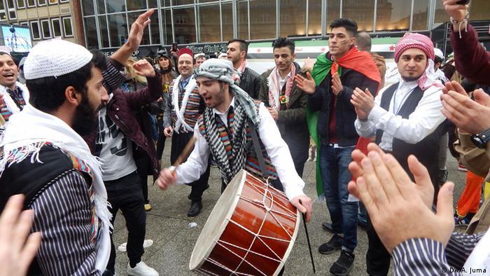Deutschland arabische Teilnahme am Karneval