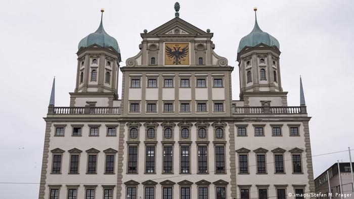 Deutschland Rathaus in Augsburg