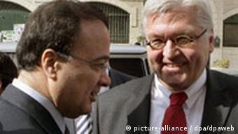 Frank-Walter Steinmeier in Ramallah Treffen mit Al-Kidwa
