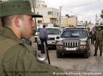 Security was high in Ramallah during Steinmeier's visit