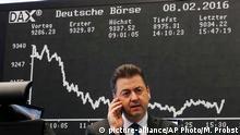 Deutschland DAX unter 9.000 Punkten