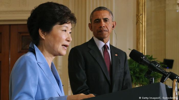US and South Korean leader