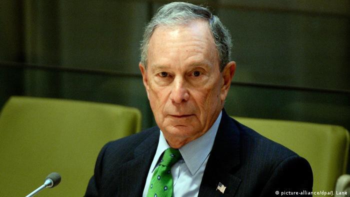 USA Präsidentschaftswahl Michael Bloomberg