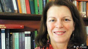 Marianne Hepp, Vorsitzende des Internationalen Deutschlehrerverbands