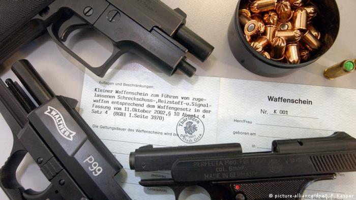 A German pistol
