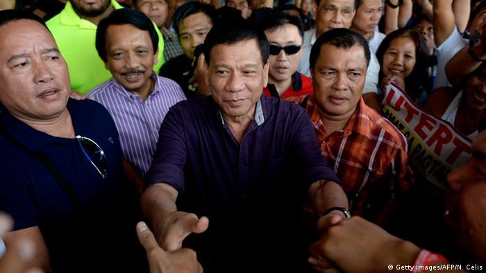 Philippinen Präsidentschaftswahlen Rodrigo Duterte Kandidat