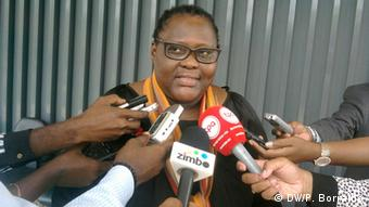Angola Journalistin Luísa Rogério
