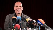 Deutschland Yanis Varoufakis Gründung von DiEM 25 PK in Berlin