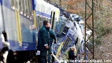 Deutschland Zugunglück bei Bad Aibling