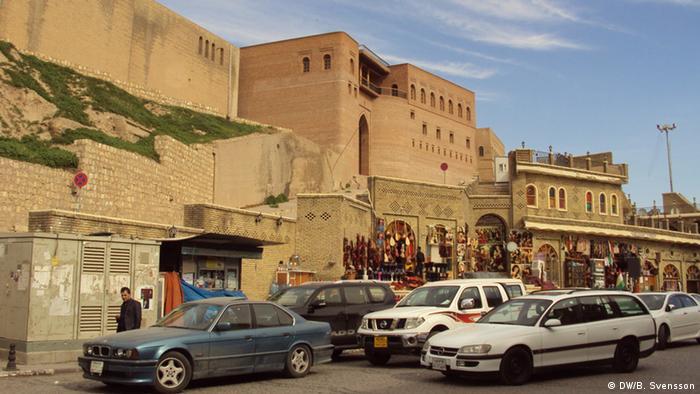 Irak Zitadelle in Erbil