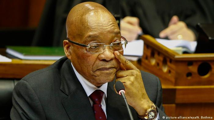 Südafrika Jacob Zuma Staatspräsident