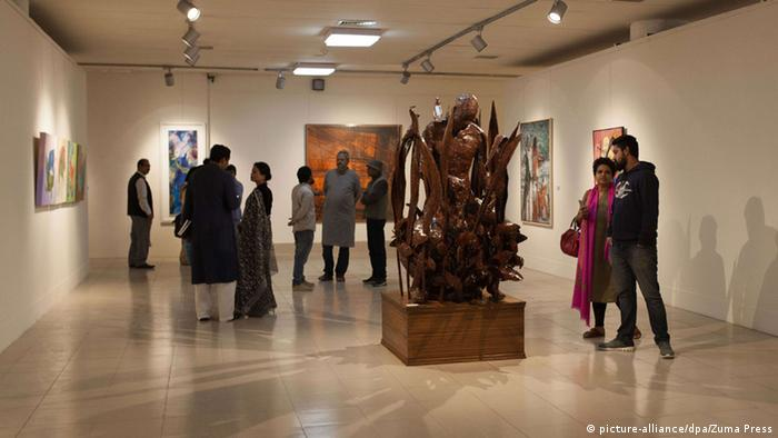 Bangladesch Dhaka Art Summit 2016