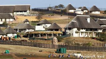 Südafrika Privatbesitz von Jacob Zuma Staatspräsident