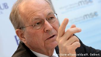 Wolfgang Ischinger, presidente de la Conferencia de Seguridad de Múnich.