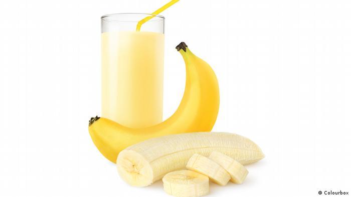 Bananenmilch Symbolbild