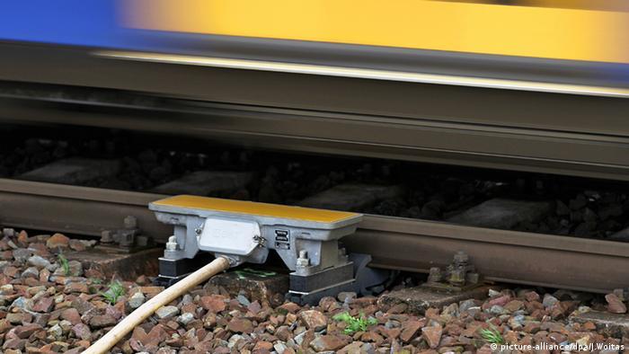 Punktförmige Zugbeeinflussung PZB (Foto: dpa).