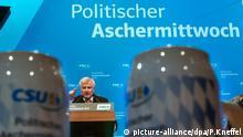 Horst Seehofer beim politischen Aschermittwoch der CSU 2015 in Passau