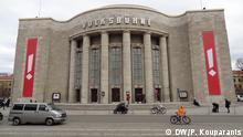 Wann: 9.2.2016 Wo: Theater Volksbühne, Berlin Anlass: Gründungsveranstaltung von Democracy in Europe Movement 2025 (DiEM 25) 5. Fot: Gebäude der Volksbühne DW/Panagiotis Kouparanis