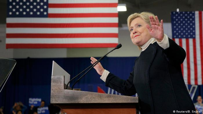 USA Vorwahlen New Hampshire Hillary Clinton