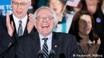 USA Vorwahlen New Hampshire Bernie Sanders