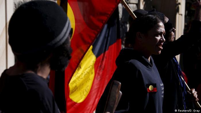 Australien Aborigines Proteste in Sydney