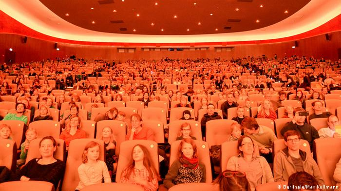 Young audiences at Berlinale theater (Berlinale/Max Kullmann)