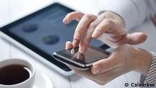 Smartphon Handy und Tablet
