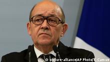 Jean Yves Le Drian Verteidigungsminister Frankreich