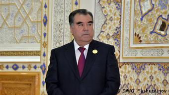 Tadjikistan Präsident Emomali Rachmon
