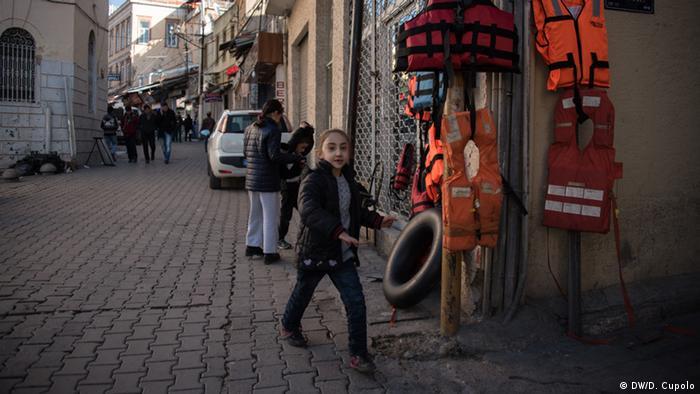 Діти біженців на вулиці Ізміра