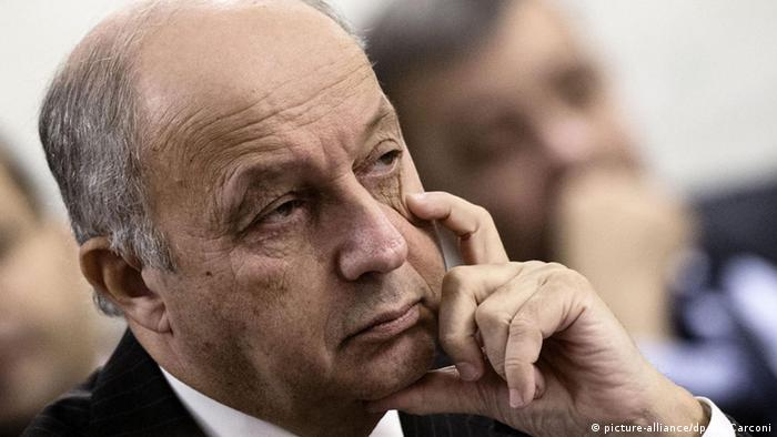 Italien Konferenz Internationale Allianz gegen IS Laurent Fabius
