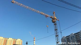 Baustelle in der Vorort von Moskau