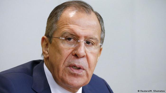 Sergei Lawrow Außenminister Russland (Reuters/M. Shemetov)