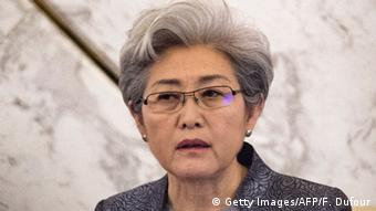 Fu Ying Vize Außenministerin China (Getty Images/AFP/F. Dufour)