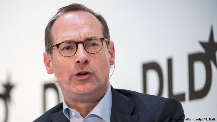 Oliver Bäte, Vorstandsvorsitzender der Allianz SE