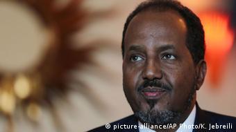 Somalia Präsident Hassan Sheikh Mohamud
