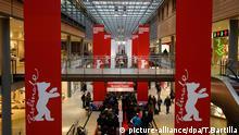 Berlinale Werbung Banner Arkaden