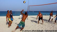 Iran Volleyball am Strand