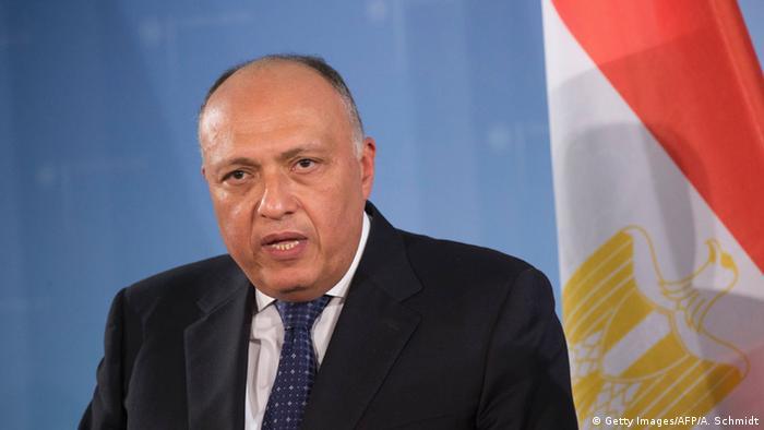 Ägypten Außenminister Sameh Shoukry