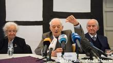 Auschwitz-Überlebende fordern Gerechtigkeit
