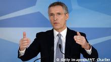 Brüssel Treffen der NATO-Verteidigungsminister - Jens Stoltenberg