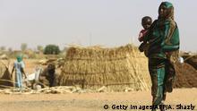 Darfur Flüchtlingslager in Zam Zam