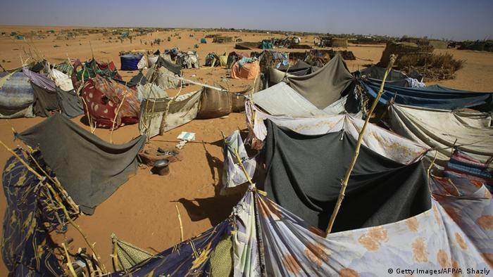 Darfur Flüchtlingslager in Zam Zam (Getty Images/AFP/A. Shazly)